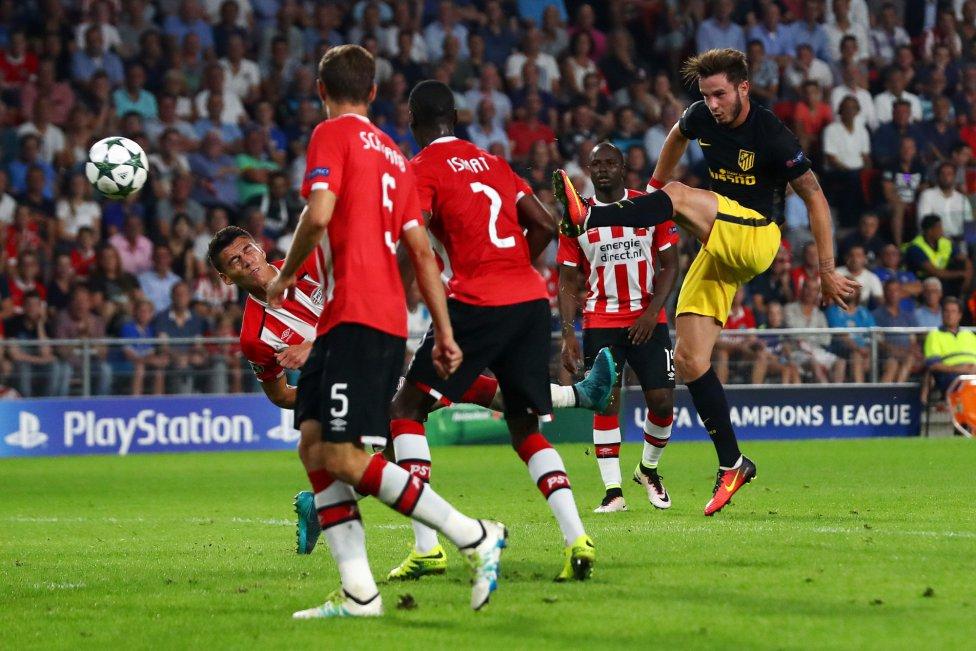 PSV-Atlético de Madrid en imágenes