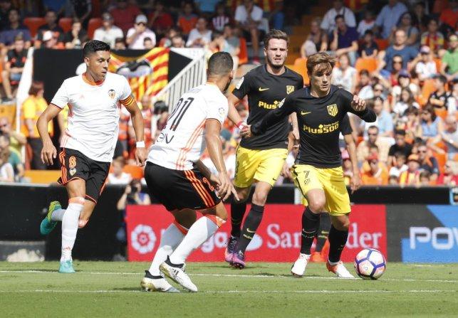 Valencia-Atlético en imágenes