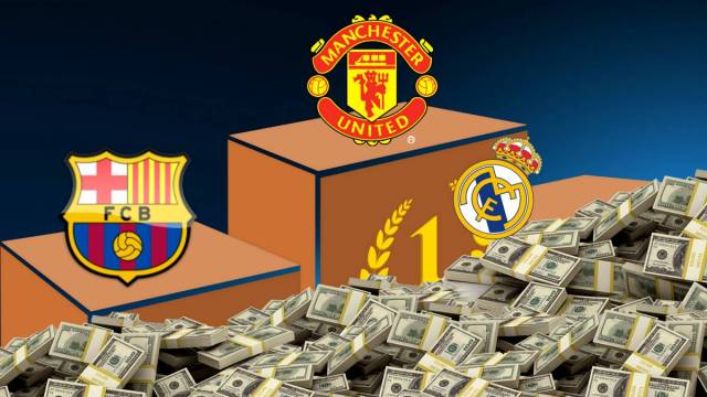 Manchester United top Real Madrid and Barça in rich list
