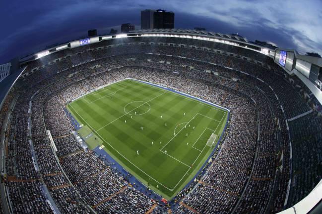 Estadio Santiago Bernabéu (Real Madrid).