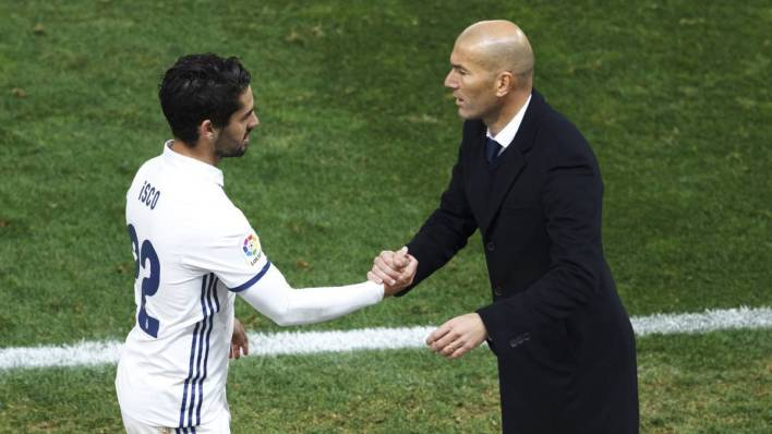 Image result for Zidane and Isco