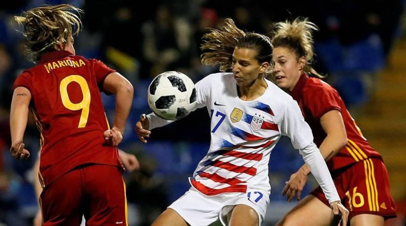 Fútbol. Mundial femenino 2019. España perdió con USA 1-2. Suecia gana 1-0 a Canadá. En 4os.: Francia vs. USA. Inglaterra vs. Noruega. Alemania contra Suecia