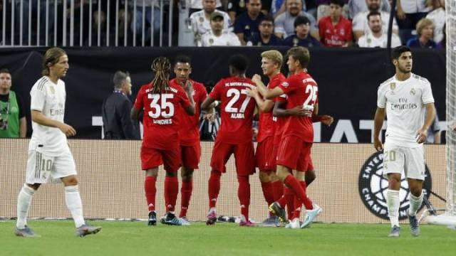 Bayern - Real Madrid en directo: amistoso de pretemporada en vivo