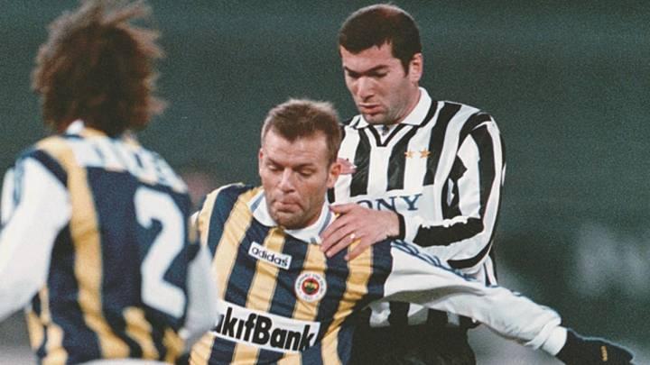 Os dados de Zidane em seu início na Juve que o negam