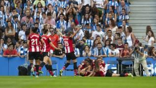 Real Sociedad Femenino-Athletic Femenino El Athletic se lleva el derbi con  28.000 hinchas en el Reale Arena - AS.com