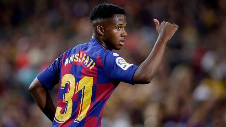 Barça renew Ansu Fati and increase release clause to €170M - AS.com