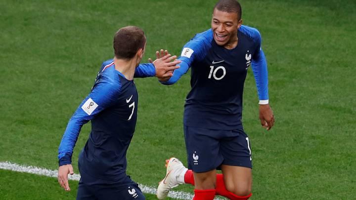 La selección francesa jugará 8 partidos antes de fin de año - AS.com