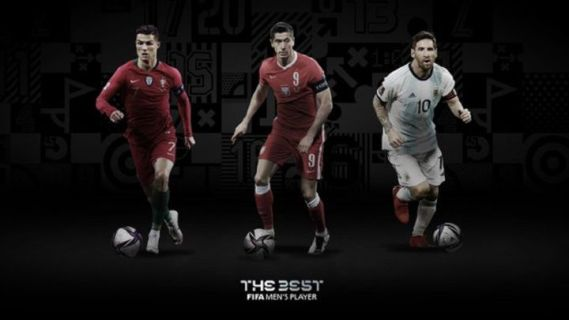 The Best: Ronaldo, Lewandowski & Messi up for men's player of the year