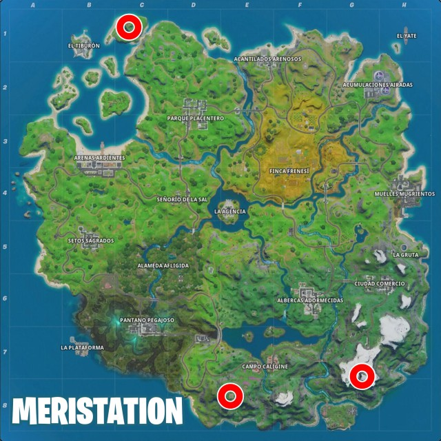 fortnite chapter 2 season 2 challenges report of brutus defy lands in faro de lockie apres ski and monte kay map