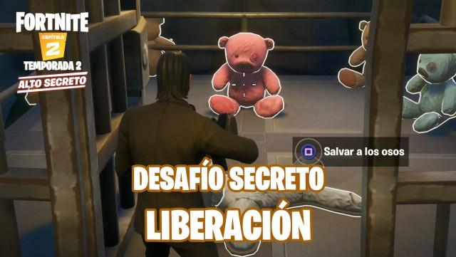 fortnite chapter 2 season 2 challenge secret release save bears