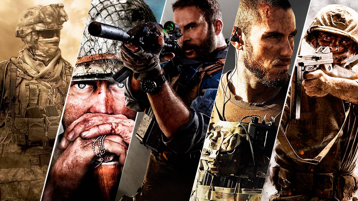 top mejores call of duty cod