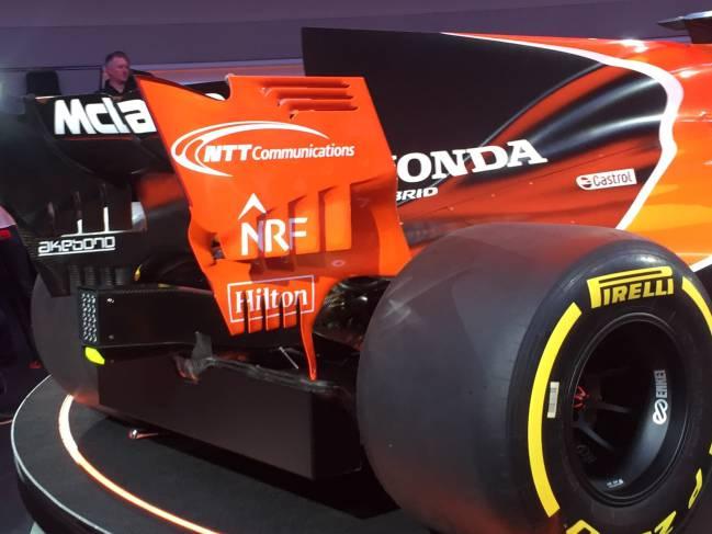 El McLaren MCL32.