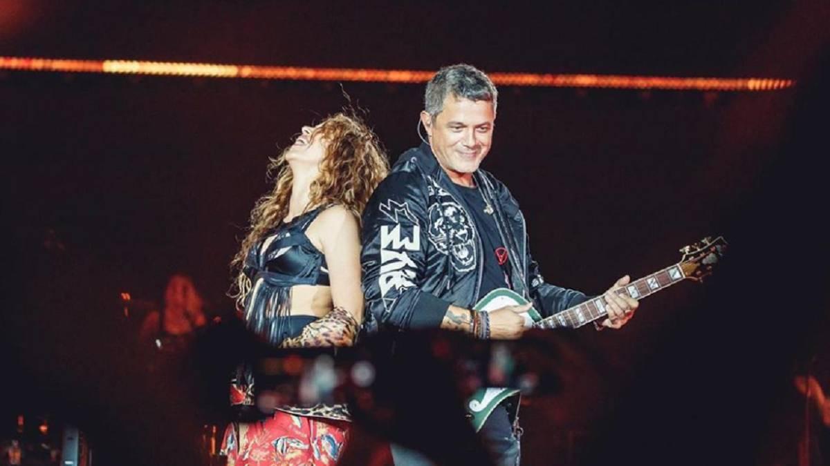 La declaración de Alejandro Sanz a Shakira en pleno concierto en Barcelona