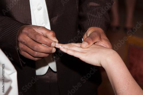 alliances mariage mixte un homme noir