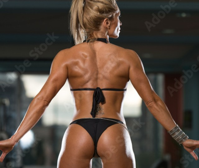 Mature Woman Showing Her Well Trained Ass