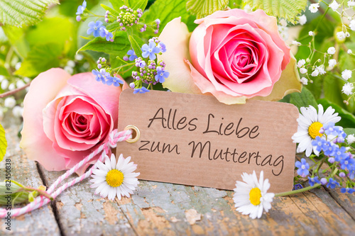 Alles Liebe Zum Muttertag Buy This Stock Photo And Explore
