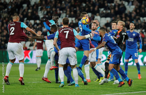 Premier League West Ham United Vs Leicester City