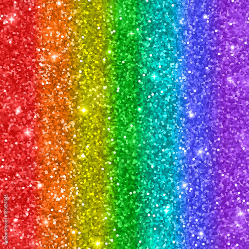 Wallpaper Sparkle Rainbow