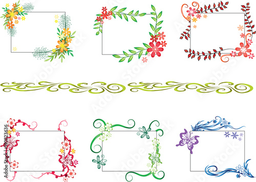 Greeting Card Border Design Buy This Stock Illustration