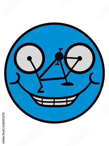 Karikatur Vater Und Sohn Radfahrer Stock Abbildung Illustration