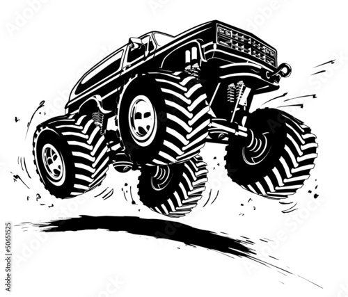 Download Cartoon Monster Truck - Buy this stock vector and explore ...