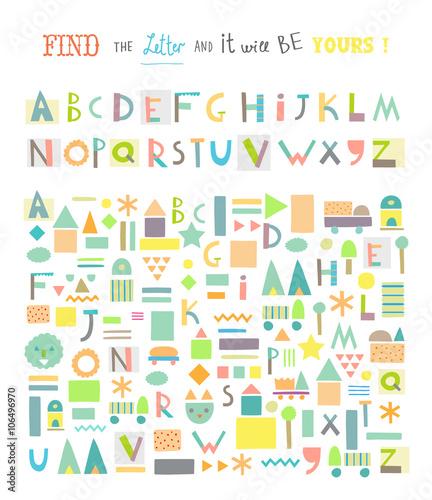 find the alphabet # 39