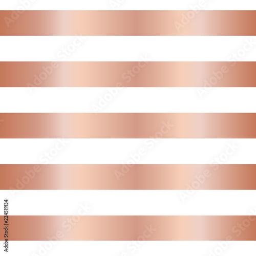 rose gold foil stripe seamless vector