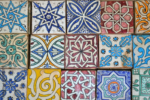 https stock adobe com images moroccan ceramic tiles fez morocco 240892999 start checkout 1 content id 240892999