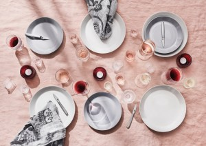 stijlvol ingeklede feesttafel