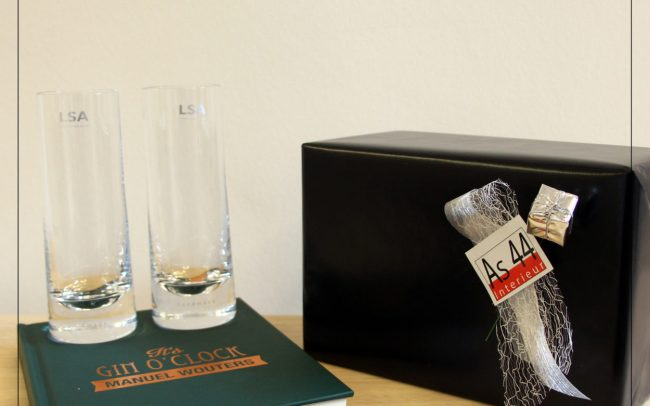 Designcadeaus LSA - cocktailglazen gin