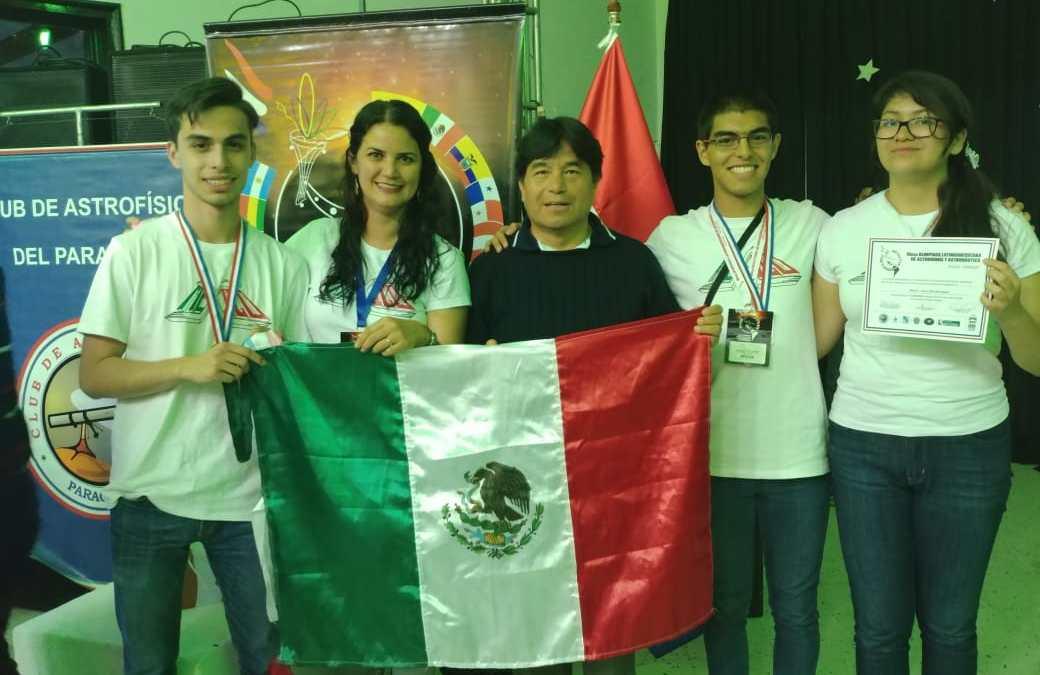 ¡México regresa con medallas de la X Olimpiada Latinoamericana de Astronomía y Astronáutica¡