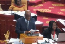 Photo of Updates on 2016 Budget Statement as delivered by Hon. Seth Terkper