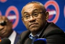 Ahmad Ahmad, president of CAF