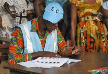 Electoral Commission official
