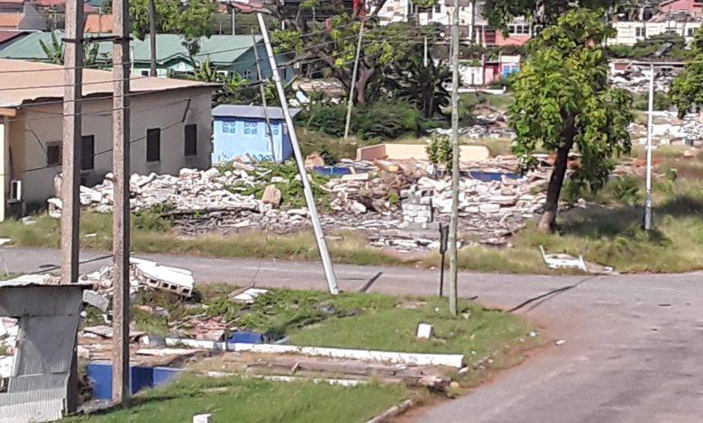Trade Fair Site demolition