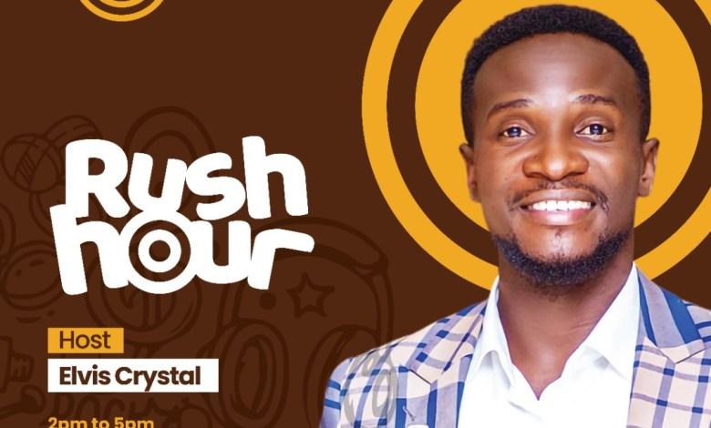 """Elvis Crystal presents """"Rush Hour"""" on Asaase Radio"""