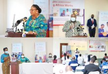 The First Lady, Rebecca Akufo-Addo, launches Young Africa Works