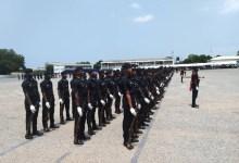 Ghana Police Service recruits