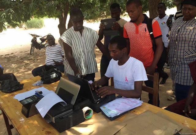 Voter registration, Ghana
