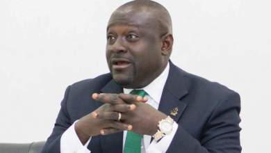 Mark Assibey-Yeboah, MP, chairman of finance committee in Parliament