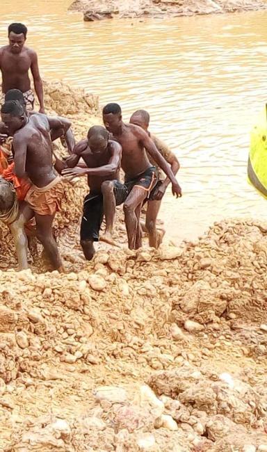 Mpatuam Bontefufuo galamsey pit miners