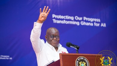 """Photo of Akufo-Addo: """"It is Mahama's policies that lack sense, not the NPP's"""""""