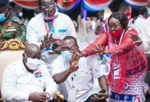 NPP 2020 Manifesto launch: Nana Akufo-Addo + fans