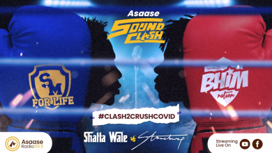 Photo of Shatta Wale meets Stonebwoy at the ASAASE SOUND CLASH launch today