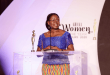Photo of Elsie Awadzi adjudged Glitz Africa Corporate Personality of the Year
