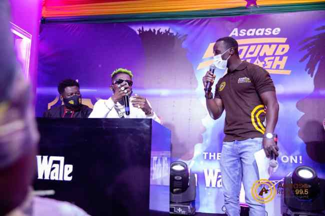 Asaase Sound Clash launch: Elvis Crystal with Shatta