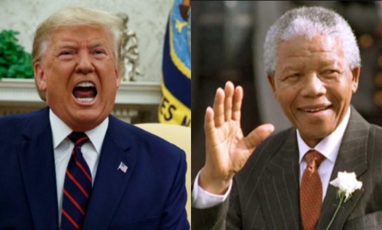 Donald Trump + Nelson Mandela