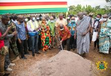 Photo of Phase three commences of the Five Districts Water Supply Project in the Volta Region