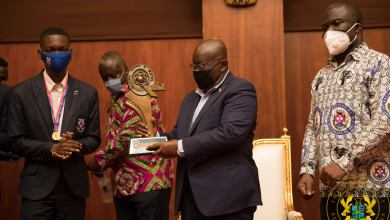 Photo of I share in your victory, says Akufo-Addo to Presec – 2020 NSMQ winners