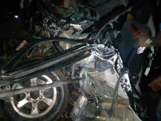 Car crash that killed Abu Kamara, NPP candidate, Yapei Kusawgu, 16.10.2020